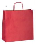 Shopper in carta TWISTER I, rosso
