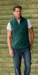 Gilet in felpa Outdoor